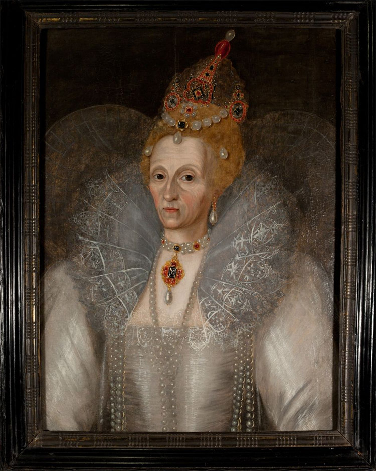 Elizabeth I's portrait brings us face to face with the ravages of ...