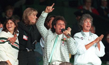 Cliff Richard at Wimbledon