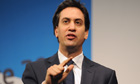 Labour leader Ed Miliband economy speech