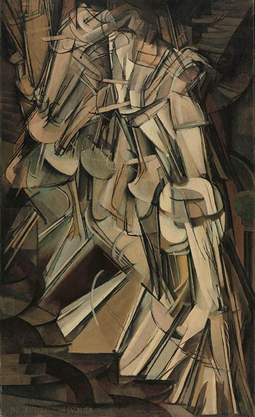 Barbican: Marcel Duchamp, Nude Descending a Staircase (No.2), 1912