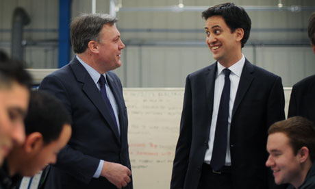 Ed Balls and Ed Miliband