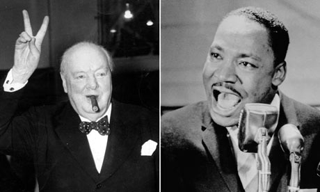 Winston Churchill and Martin Luther King