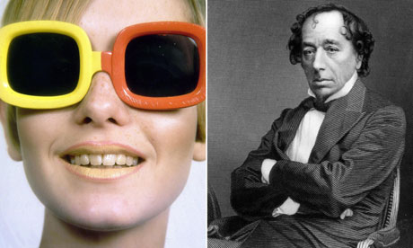 Twiggy and Benjamin Disraeli