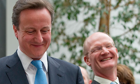 David Cameron and David Willetts