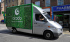 Ocado Waitrose supermarkets online groceries