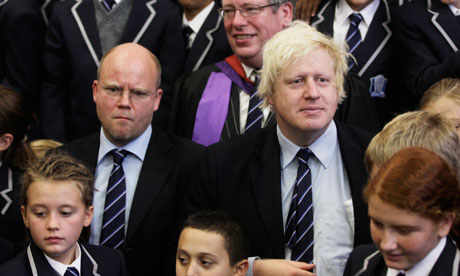Boris Johnson and Toby Young