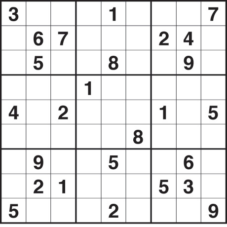 Sudoku 2432 medium