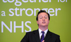 David Cameron reassures NHS staff 16 May 2011