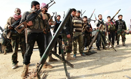 Free Syrian fighters attack Aleppo international airport in Syria