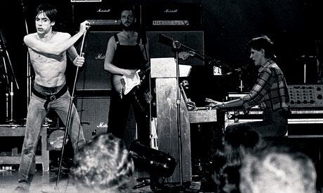 David Bowie, Iggy Pop and Ricky Gardiner