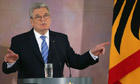 Joachim Gauck Gives Speech On Europe
