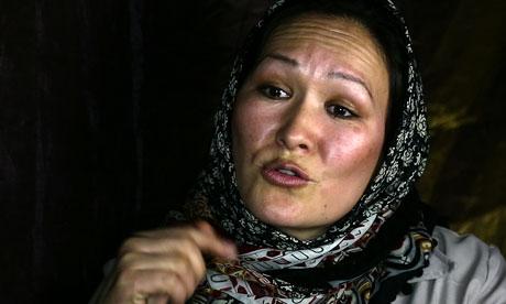 Azra Jafari 008 Afghanistan Behind US