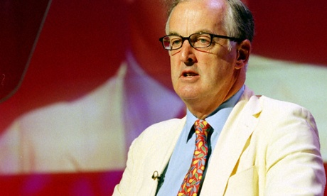 Former chair of the BBC governors Sir Christopher Bland, speaking back in 2001. Photo: BBC/Handout