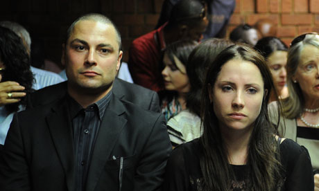 Carl and Aimee Pistorius trial