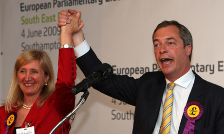 Marta Andreasen Nigel Farage