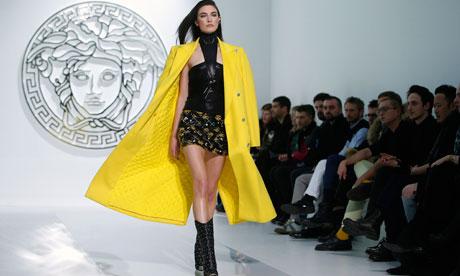 versace milan show