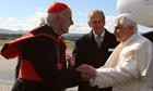 Cardinal Keith O'Brien Pope Benedict XVI