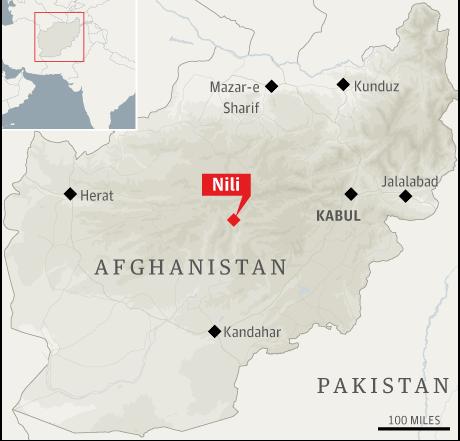 Map Afghanistan Nili 001 Afghanistan Behind US
