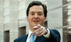 George Osborne pointing