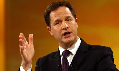 Nick Clegg statement Lord Rennard allegations Liberal Democrats