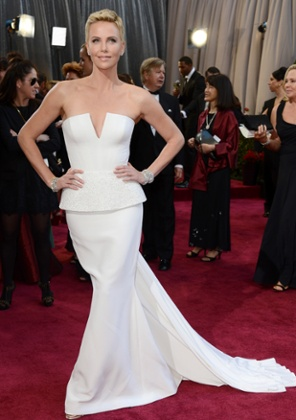 Charlize Theron, copyrighting the phrase
