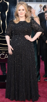 Adele, giving the world hair envy
