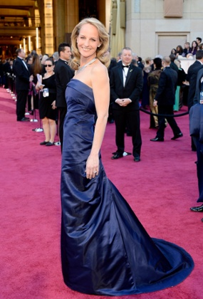 Helen Hunt arrives at the Oscars