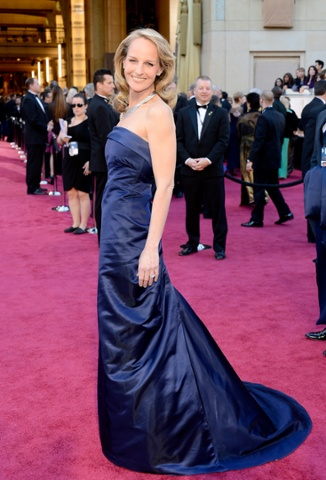 Helen Hunt arrives at the Oscars