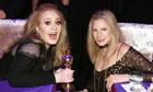 Adele and Barbra Streisand at the Governors Ball