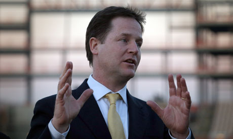 Nick Clegg, Ageas Bowl, Eastleigh