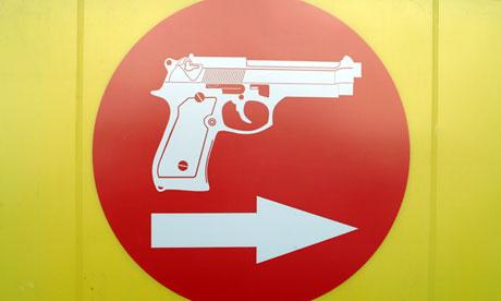 Gun Shop Sign Cape Town South Africa RSA