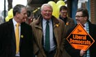 Paddy Ashdown Lib Dems Eastleigh Lord Rennard allegations