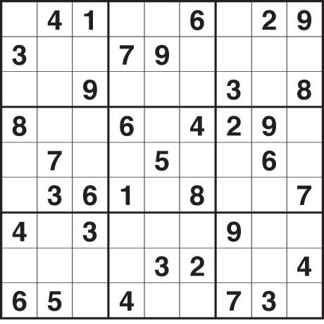 Fill the grid so that every row, every column and every 3x3 box ...