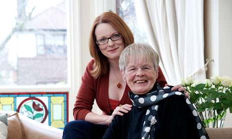 Helen Sanderson and her mother Carolyn