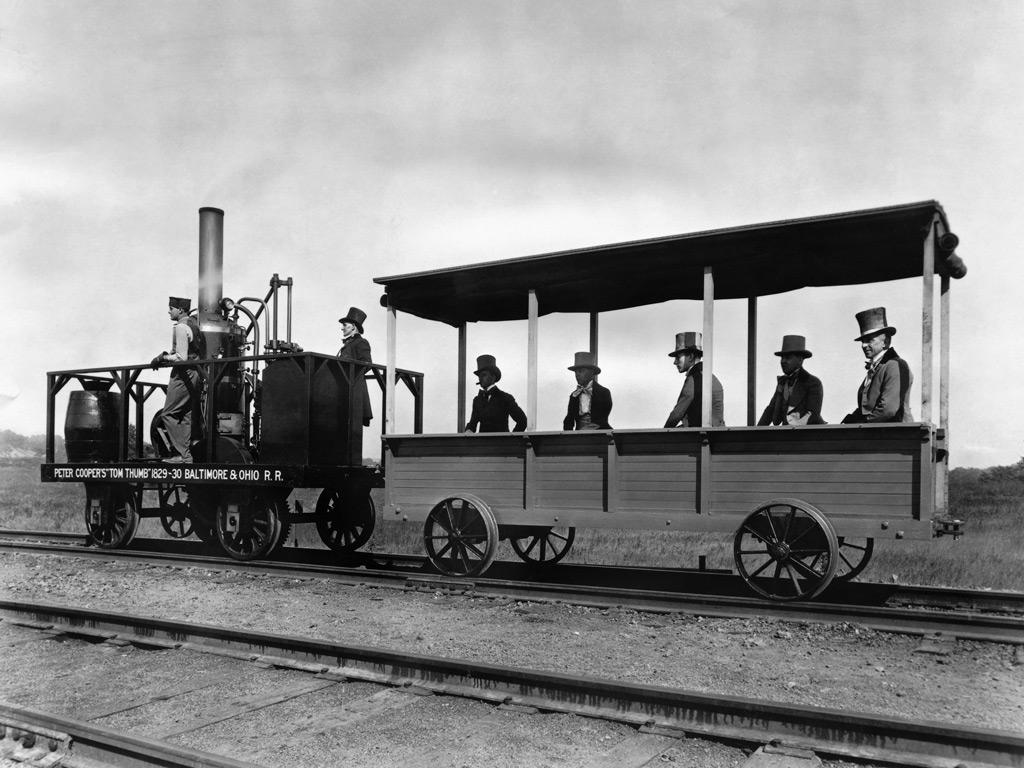 The Tom Thumb, America's First Locomotive