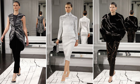 Balenciaga Autumn/Winter collection at Paris Fashion Week