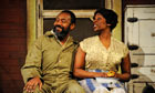Lenny Henry as Troy and Tanya Moodie as Rose in Fences