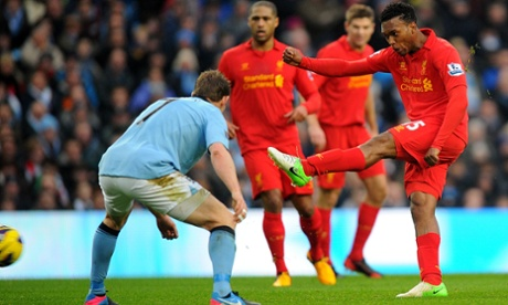 Daniel Sturridge scores.