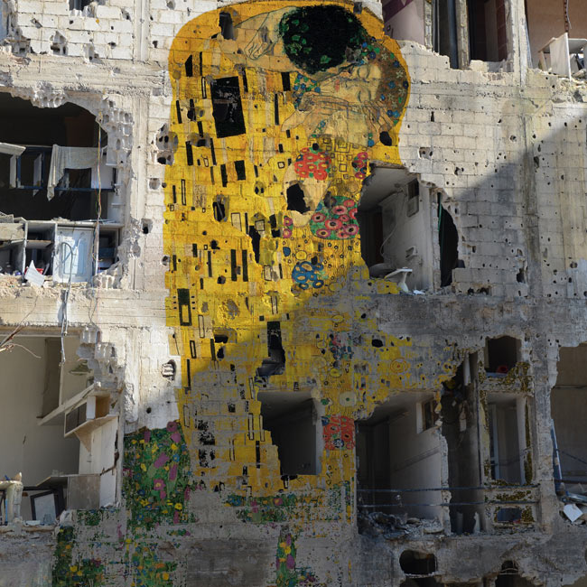 Tammam Azzam's Kiss: an unromantic commentary on the Syrian conflict, The Guardian