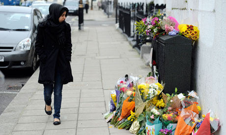 Pimlico murder tributes