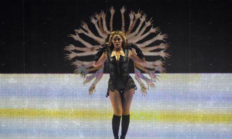 Beyonce LED Super Bowl