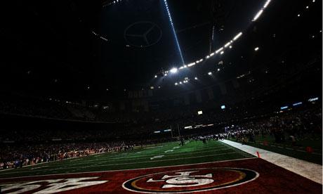 Super Bowl blackout