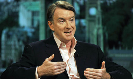 Lord Mandelson Is Interviewed On The Andrew Marr Show