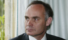 Gloria Foster left to starve Crispin Blunt MP