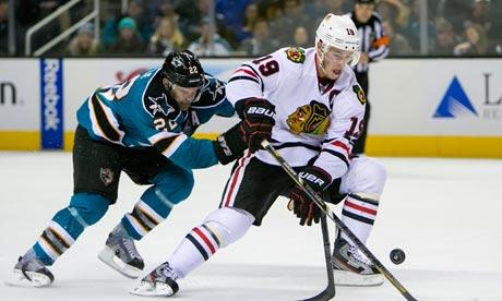 NHL: Blackhawks vs Sharks