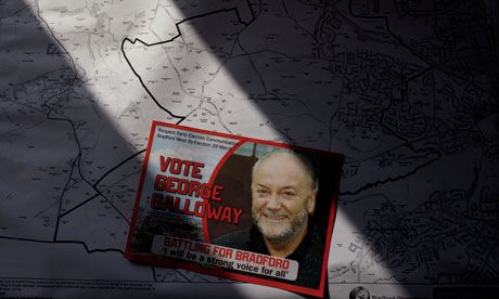 George Galloway on the warpath