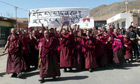 China Tibet protests