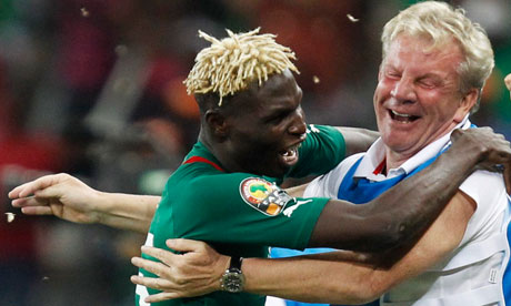 Burkina Faso coach Paul Put