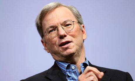 Eric Schmidt of Google