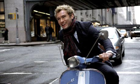 Jude Law in Alfie, 2004.